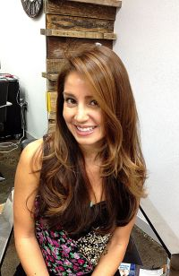golden brown hair color | Split Ends | Pinterest