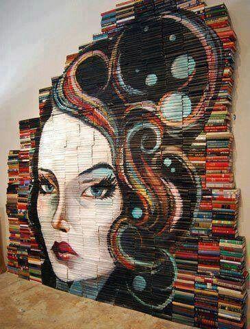 arte de libros, pinned by Ton van der Veer