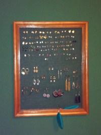 Pierced earring holder/display | Gifting Ideas | Pinterest