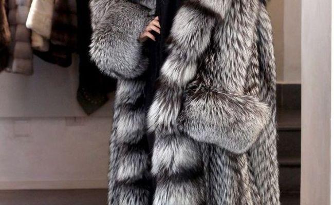 Amaeen Coats for Womens Fashion Imitation Faux Fox Fur Coat Splicing Cashmere Jacket Loose Soft Casual Overcoat