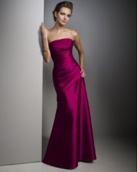 Fuschia bridesmaid dress | Im getting married!!!! | Pinterest