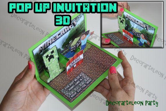 Printable 3d Invitations