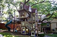 Best tree house playground ever | Dream Home BACKYARD ...