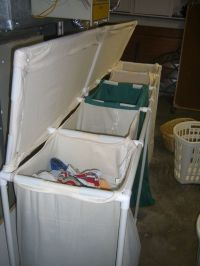 DIY - Huge PVC Laundry Sorter | Organize | Pinterest