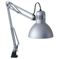 TERTIAL Work lamp, silver color