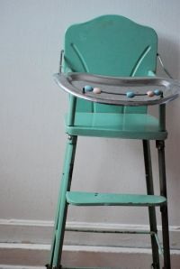 Vintage Metal Baby Doll High Chair | Childhood Memories ...