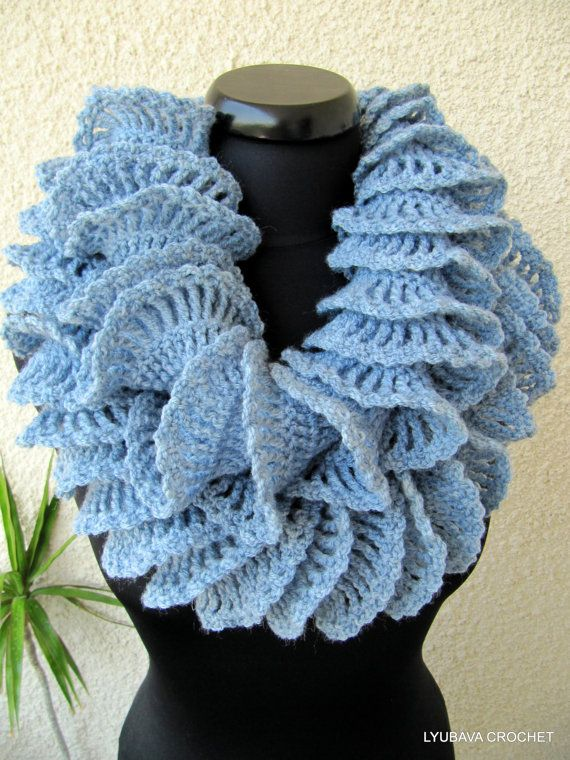 Pin by Lyubava Crochet on Crochet Scarves Patterns