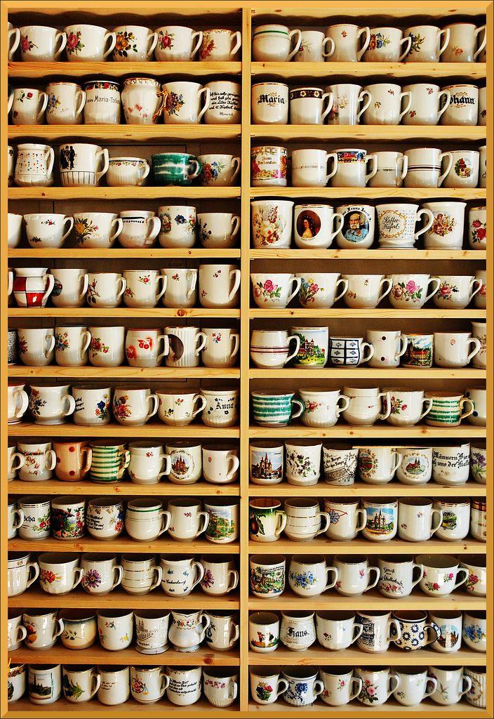 Soooo many mugs.