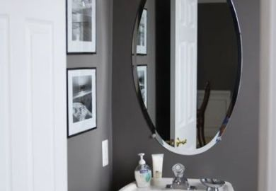 Ec24ee Half Bathroom Ideas Gray