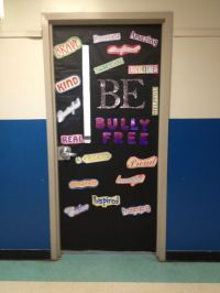 Bully free door decorating | school door decorations ...