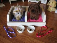 Pet Bed/Accessories for American Girl Doll Pets-Double Pet ...