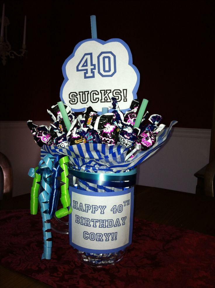 40th Birthday Ideas 40th Birthday Joke Present Ideas