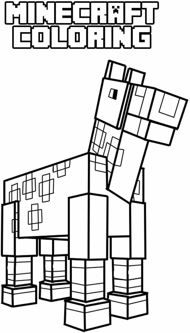 The Diamond Minecart Coloring Pages To Print Coloring Pages
