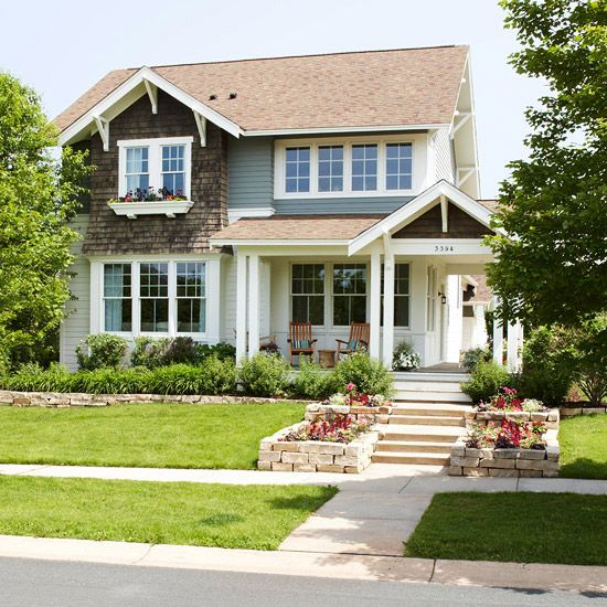 New sod can transform the appearance of your home! More curb appeal on a dime: http://www.bhg.com/home-improvement/exteriors/curb-appeal/curb-appeal-on-a-dime/?socsrc=bhgpin081113newsod=11