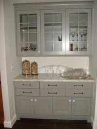 gray cabinets | Krista Kitchen | Pinterest