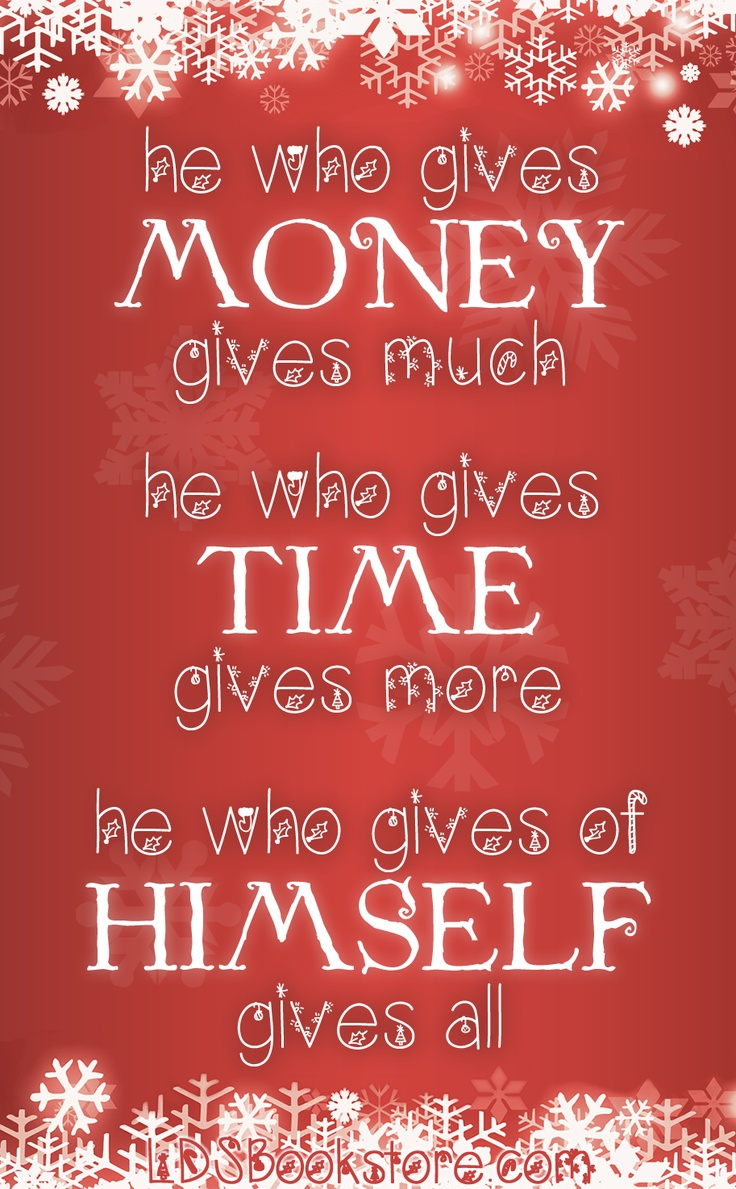 Lds Christmas Quotes