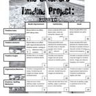 The Outsiders: Timeline Unit Project