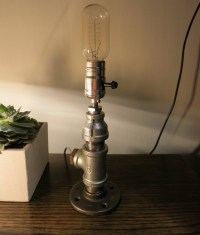 Industrial Pipe Lamp | The Lamps of Rizzo and Crane via ...