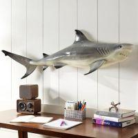 Shark wall decor | Home | Pinterest
