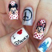 disney nail design nail'