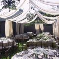 Diy wedding tent using pvc pipes and fabric diy party tent ideas