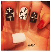 nail art cross joy studio design