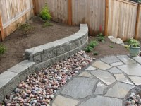 small retaining wall | Outdoors | Pinterest