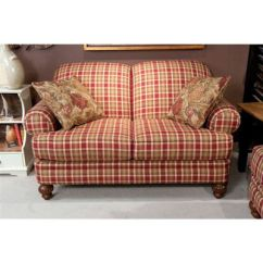 Country Plaid Sofa Sets Vienna Convertible Lounger Bed In Brown Leather Pin By Amy Turek On Home Decor   Pinterest