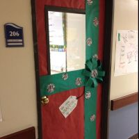Christmas | Classroom Door Decoration | Pinterest