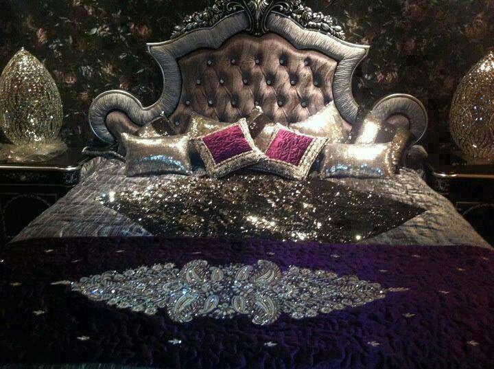 bedroom set but bling  Bling  Pinterest