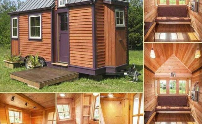 Beautiful Tiny Home On Wheels Welcome Home Pinterest