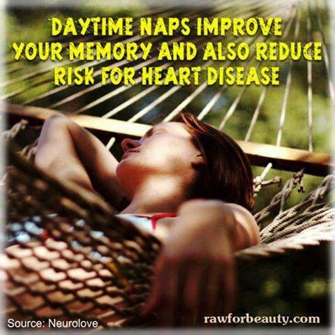 That's why I take naps for my health... :}