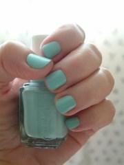 seafoam green nail polish