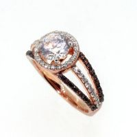 Rose Gold Ring: Rose Gold Rings With Chocolate Diamonds
