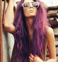 The gallery for --> Purple Eggplant Hair Color