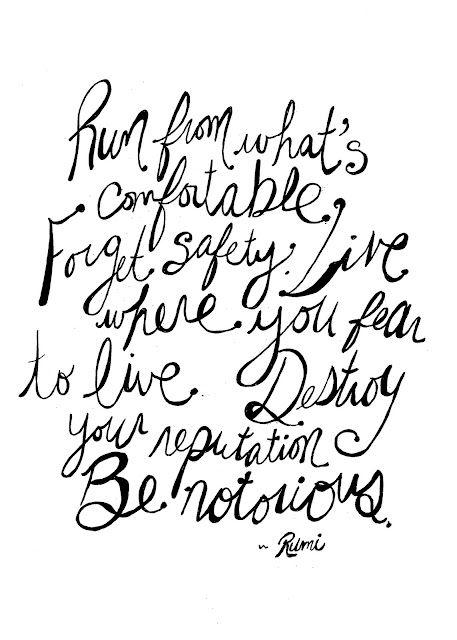 Rumi Said...