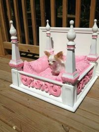 Dog bed made from an old coffee table.:)   * Gift Ideas ...