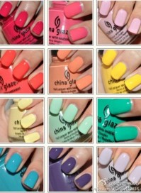 Fun summer nail colors | My Steezz | Pinterest