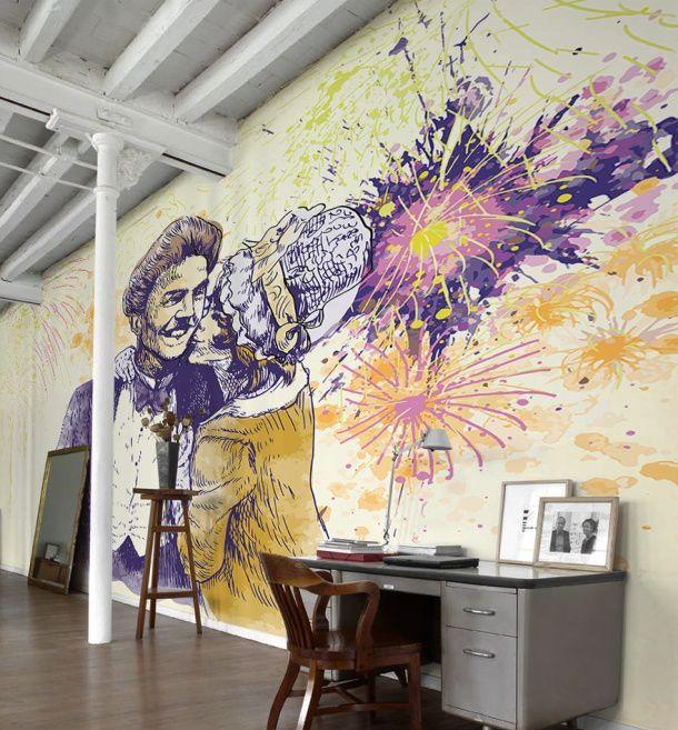 25 Beautiful Home Murals