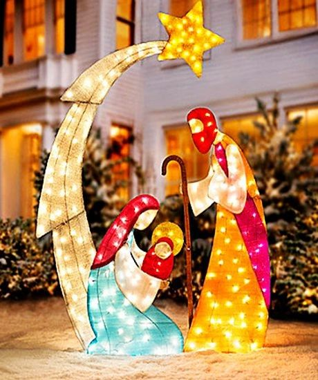 Star lights decor for christmas yard deocr, 2013 christmas outdoor lights decor #2013 #Led #Christmas #Icicle #Lights #Ideas www.loveitsomuch.com