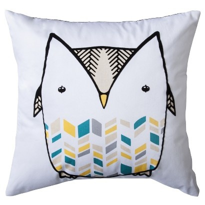 Target  Toss pillow  Owl  Living Room Makeover  Pinterest