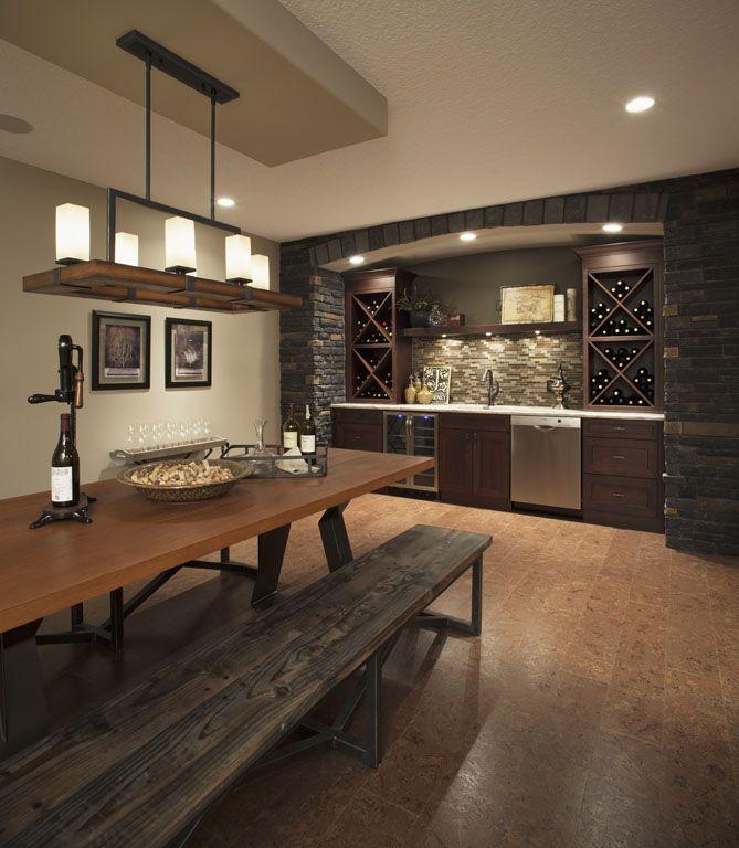 Wine Bar I like the back bar set up
