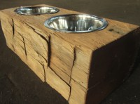 25 Excellent Woodworking Plans For Dog Dish Holder ...