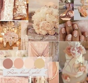 Blush Pink and gold wedding - Sugar And Spice Events Blog