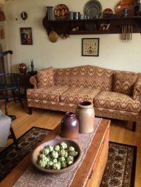 Primitive Living Room Decor