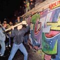Berlin wall comes down history pinterest