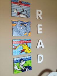Dr Seuss Canvas Wall Art - target dr seuss canvas art cool ...