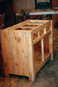 Homemade Kitchen Island Carcass | Kitchen | Pinterest