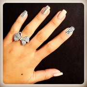 versace nails #tk lavsh pretty
