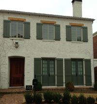 Exterior painted brick | For the Home | Pinterest